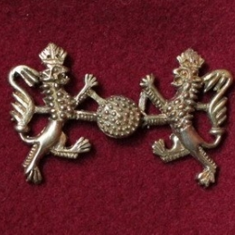 Medieval hooked-clasp, Germany eb24