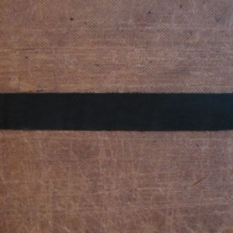Leather Straps: Black