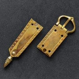 Medieval belt set, England, 14-15th cent.