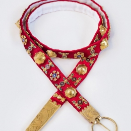 Luxurious medieval Belt from Cluny, France EBS09XL
