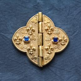 Medieval cape clasps, France ea32