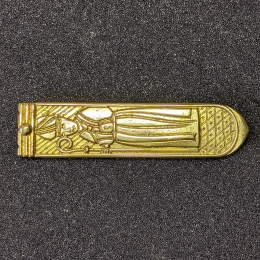 Strapend with depiction of Thomas Becket, England EX54