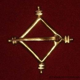 Medieval brooch, Germany EA01