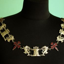 Spanish Knight's Heraldic Chain (Collar)